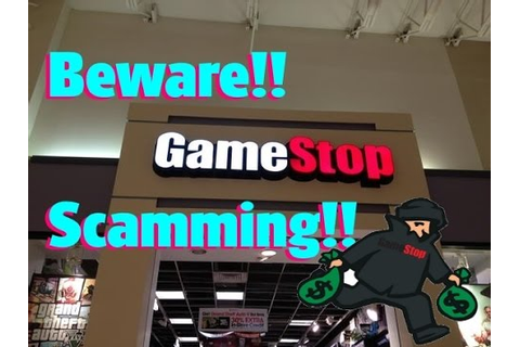 SCAM!! Don't buy from Gamestop Dec. 2016 They're selling ...