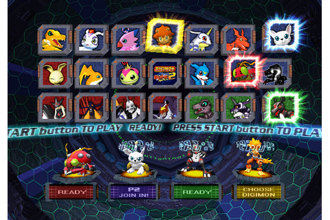 Digimon Rumble Arena 2 (PS 2) - JemberTheIsoZone