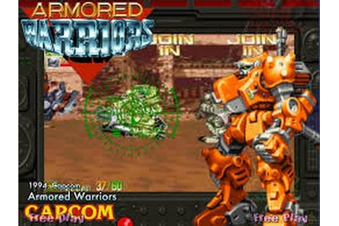 Armored Warriors (Arcade) - YouTube