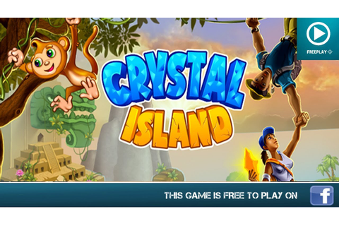 Crystal Island Facebook Game - HD Gameplay Trailer - YouTube
