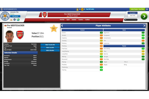 Soccer Manager 2015 - Tough Games