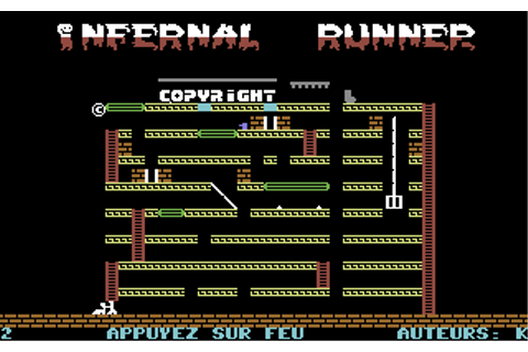 Infernal Runner - Commodore 64 Game / C64 Games, C64 ...