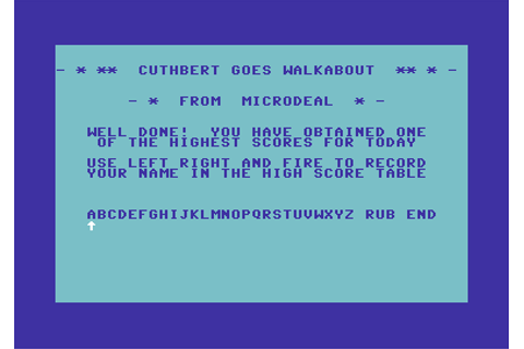Download Cuthbert Goes Walkabout - My Abandonware