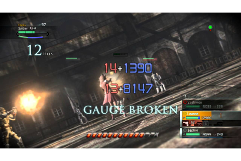 Resonance of Fate gameplay - YouTube