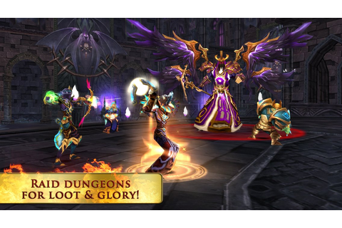 Gameloft's 'World of Warcraft'-like 'Order & Chaos Online ...