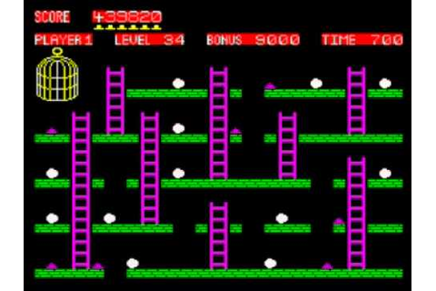 Chuckie Egg Walkthrough, ZX Spectrum - YouTube