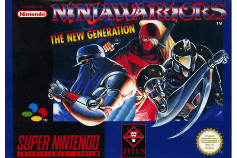 Ninja Warriors: The New Generation | Nintendo Super ...