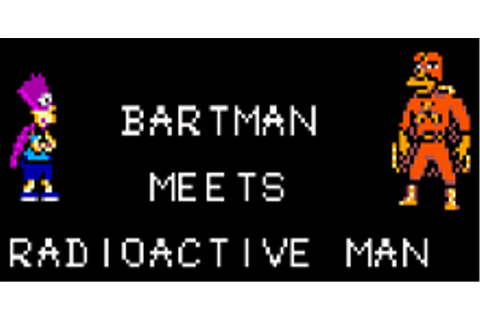 The Simpsons: Bartman Meets Radioactive Man Download Game ...