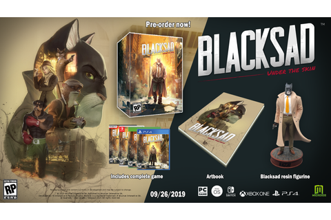 Blacksad: Under the Skin Story Trailer Revealed, Releases ...