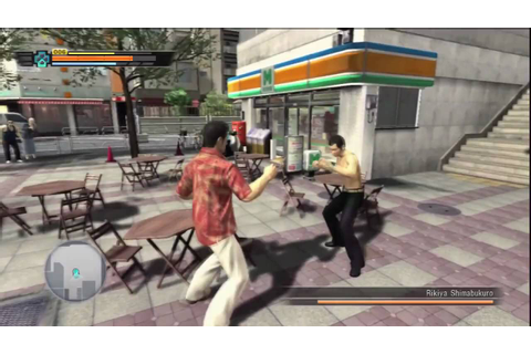 Yakuza 3 Gameplay - YouTube
