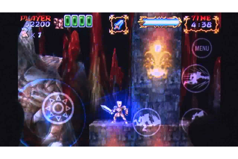 Ghosts'n Goblins Gold Knights 2 iPhone Gameplay Review ...