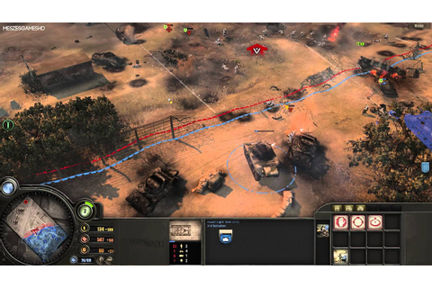 Company of Heroes Opposing Fronts GamePlay [1080p] - YouTube
