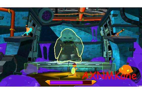Phineas and Ferb: Across the Second Dimension Gameplay ...