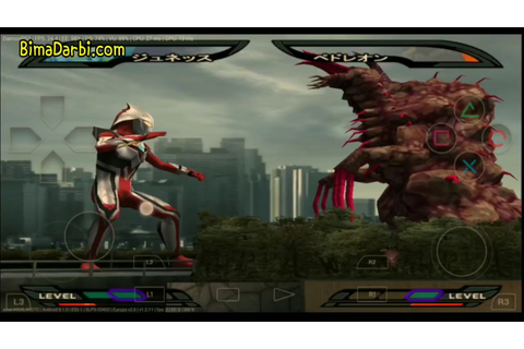 (PS2 Android) Ultraman Nexus (video game) | DamonPS2 Pro ...