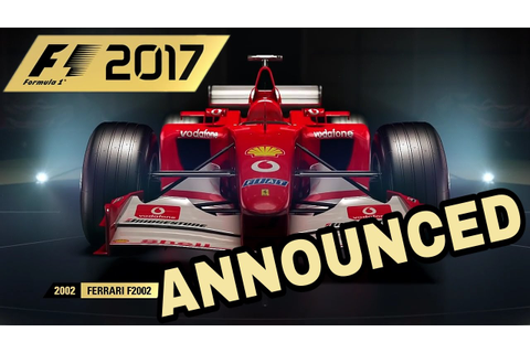 F1 2017 GAME CONFIRMED: RELEASE DATE, NEW CHAMPIONS MODE ...