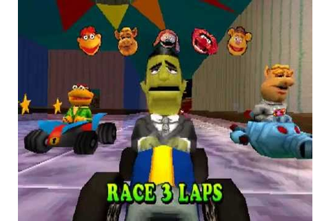 Muppet Race Mania - Race League B - Johnny Fiama - YouTube