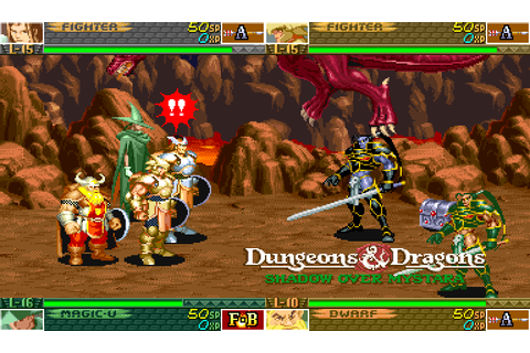 Two classic Dungeons & Dragons arcade games headed to XBLA ...