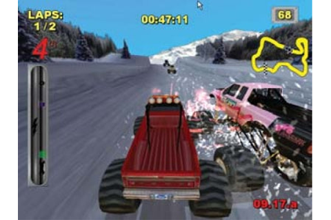 Channelgoods.com (U.K) — Wii Big Foot: Collision Course Game