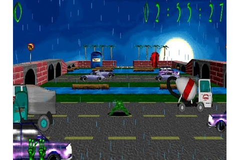 3D Frog Frenzy (Windows game 2000) - YouTube