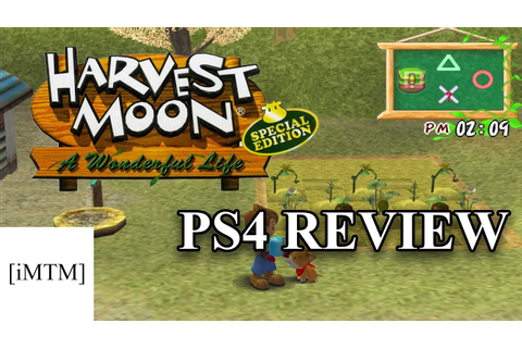 [PS4] Harvest Moon: A Wonderful Life - Review - YouTube