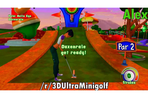 3D Ultra Minigolf Adventures Part 3: Carnival Games - YouTube