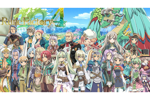 Top 5 Best Villagers: Rune Factory 4 - John E Boy - YouTube