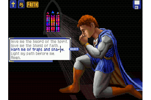 Captain Bible in Dome of Darkness (1994) for MS-DOS