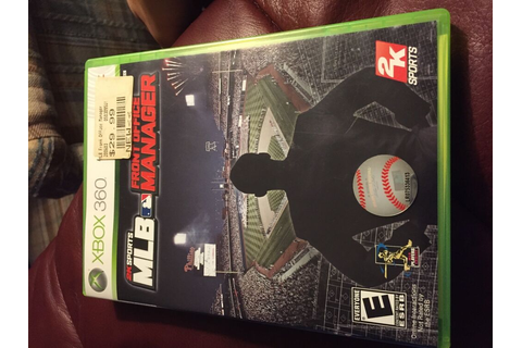 MLB Front Office Manager (Xbox 360, 2009) 710425395215 | eBay
