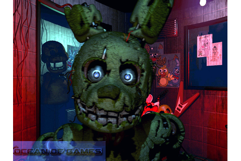 Five Nights at Freddys 3 PC Game Free Download - Ocean Of ...