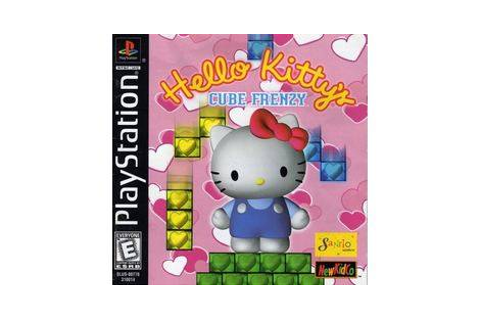 Hello Kitty's Cube Frenzy - Playstation game