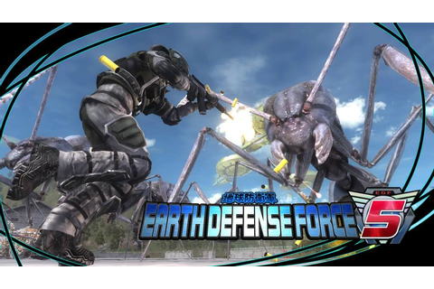 Earth Defense Force 5 Review - GamersHeroes