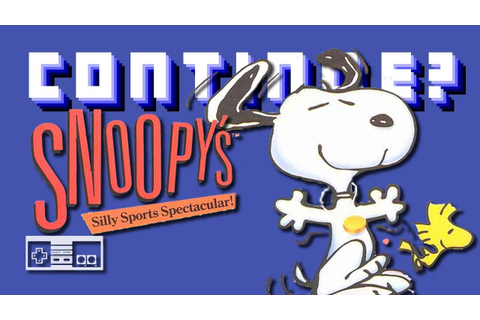 Snoopy's Silly Sports Spectacular (Nintendo NES ...