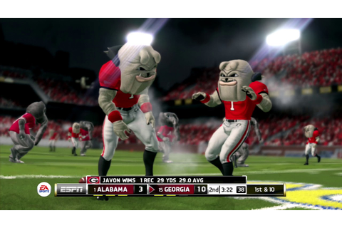 (4K60FPS) 2018 College Football Championship Game Mascot ...