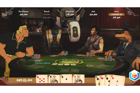 Poker Night 2 Xbox 360 Gameplay Trailer - YouTube