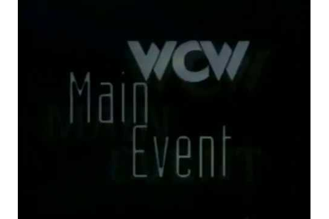 WCW Main Event January 1997 INTRO - YouTube