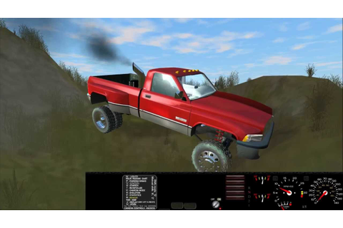 Best car physics game: Rigs of Rods - Dodge Cummins 12v ...