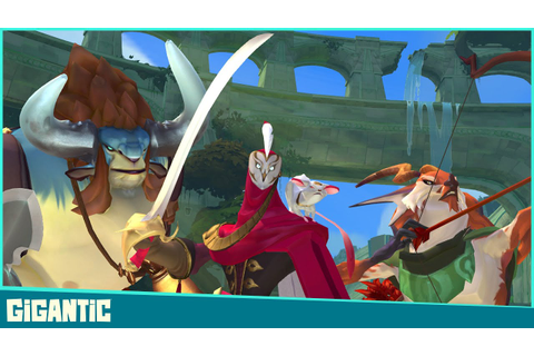 Gigantic Announce Trailer - YouTube