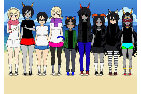 K-on Dress Up: Homestuck Girls by veronica-sullivan on ...