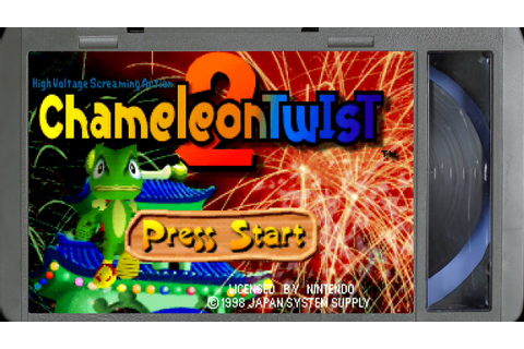 Chameleon Twist 2 :: Nintendo 64 Gameplay (Real Hardware ...