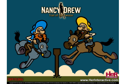 Nancy Drew: Trail of the Twister. Land Rush mini-game ...