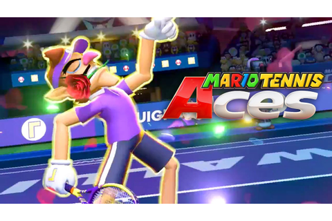 Mario Tennis Aces - Nintendo Direct Trailer - YouTube