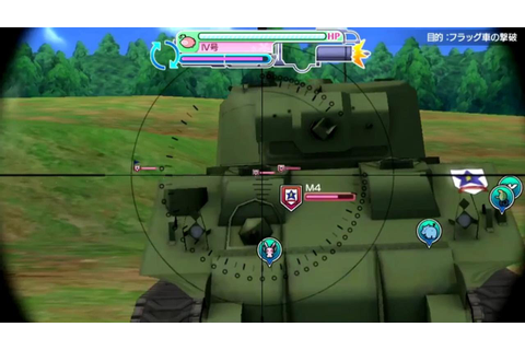 Girls und Panzer Master the Tank Road - Gameplay Trailer 2 ...