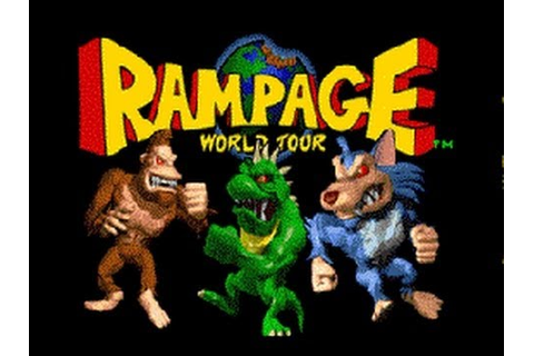 Classic Arcade Game Rampage World Tour on PS3 in HD 1080p ...