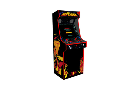 Retro Upright Arcade Machine Defender Theme, 15,000 Games ...