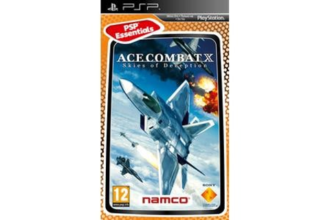 Ace Combat X Skies of Deception Essential - PSP Game ...