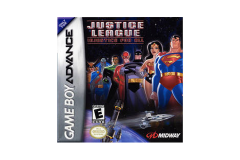 Justice League: Injustice for All - Game Boy Advance