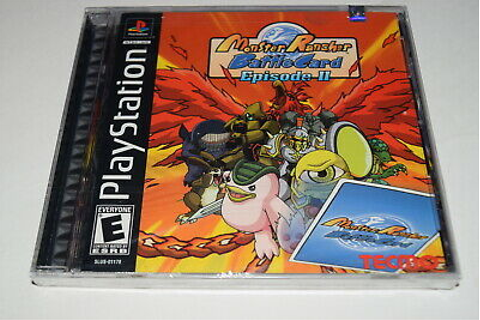 Monster Rancher Battle Card 2 Playstation PS1 Video Game ...