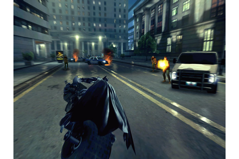 Batman on Batmobile - The Dark Knight Rises game - Digital Spy
