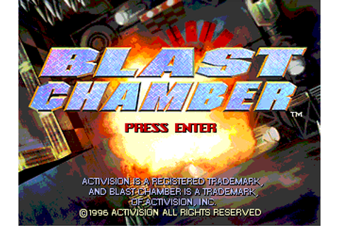 Download Blast Chamber | DOS Games Archive
