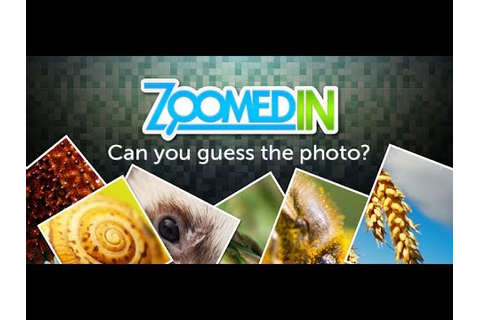 Zoomed In Picture Game Level 1- 20 - YouTube